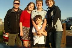 Family in Arbroath
