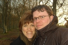 Chris and Rosalie in Arbroath
